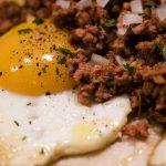 Huevos rancheros chorizo