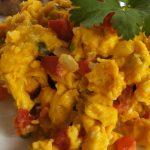 Huevos rancheros colombianos
